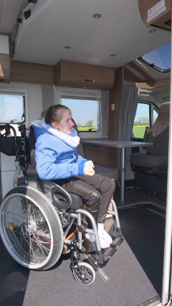 Mit Rollstuhl befahrbar
